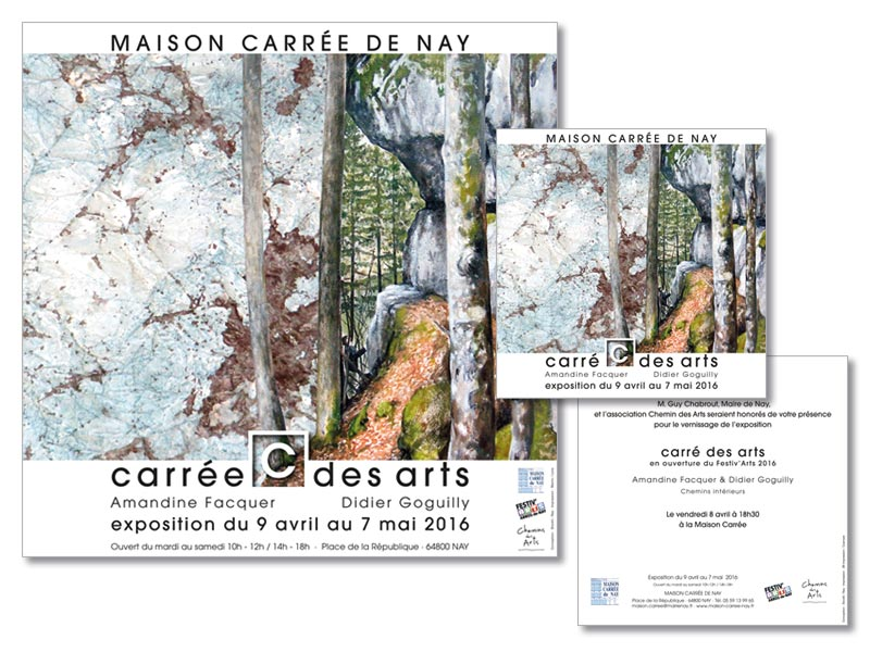 Exposition Didier Goguilly et Amandine Facquer à Nay