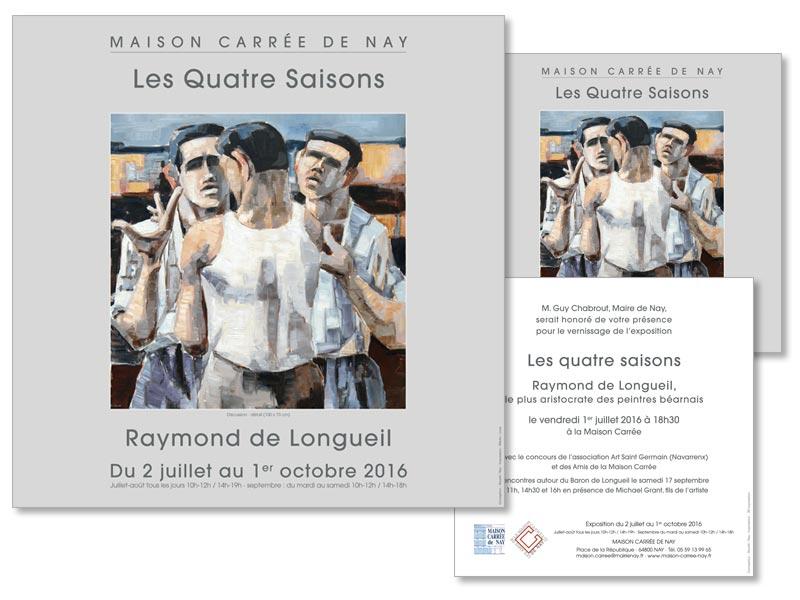 Exposition Raymond de Longueil à la Maison Carrée de Nay