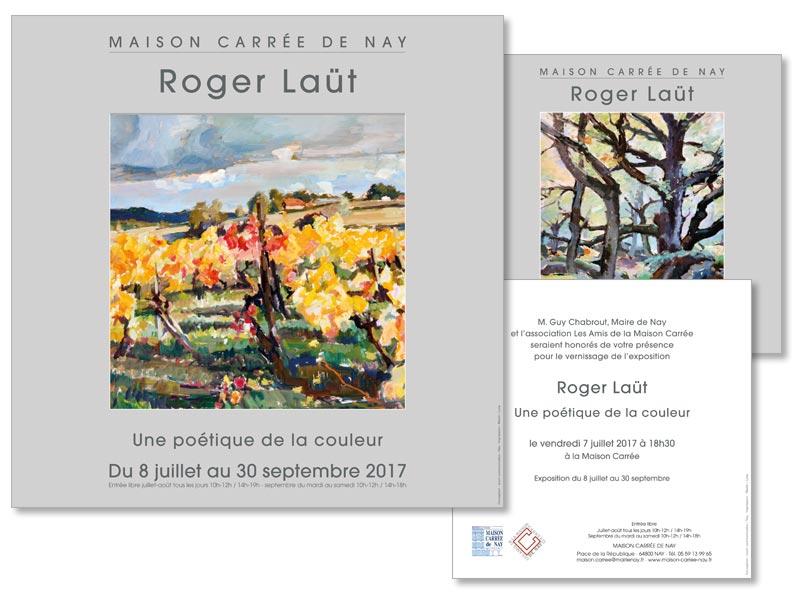 Exposition Roger Laüt à la Maison Carrée de Nay