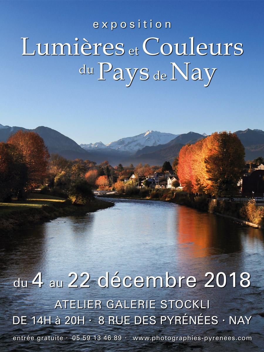 Exposition Lumières & Couleurs du Pays de Nay du 4 au 22 décembre 2018