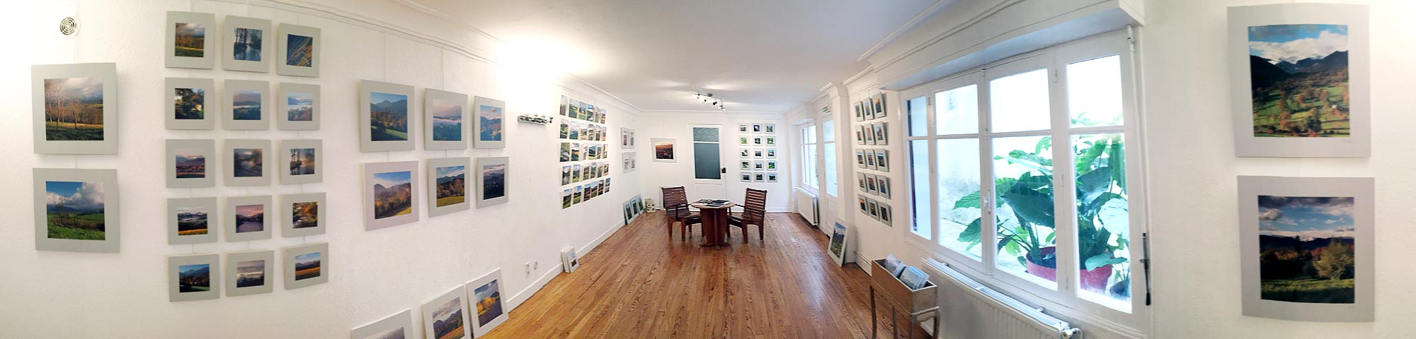 atelier salle d'exposition photographies pyrénées