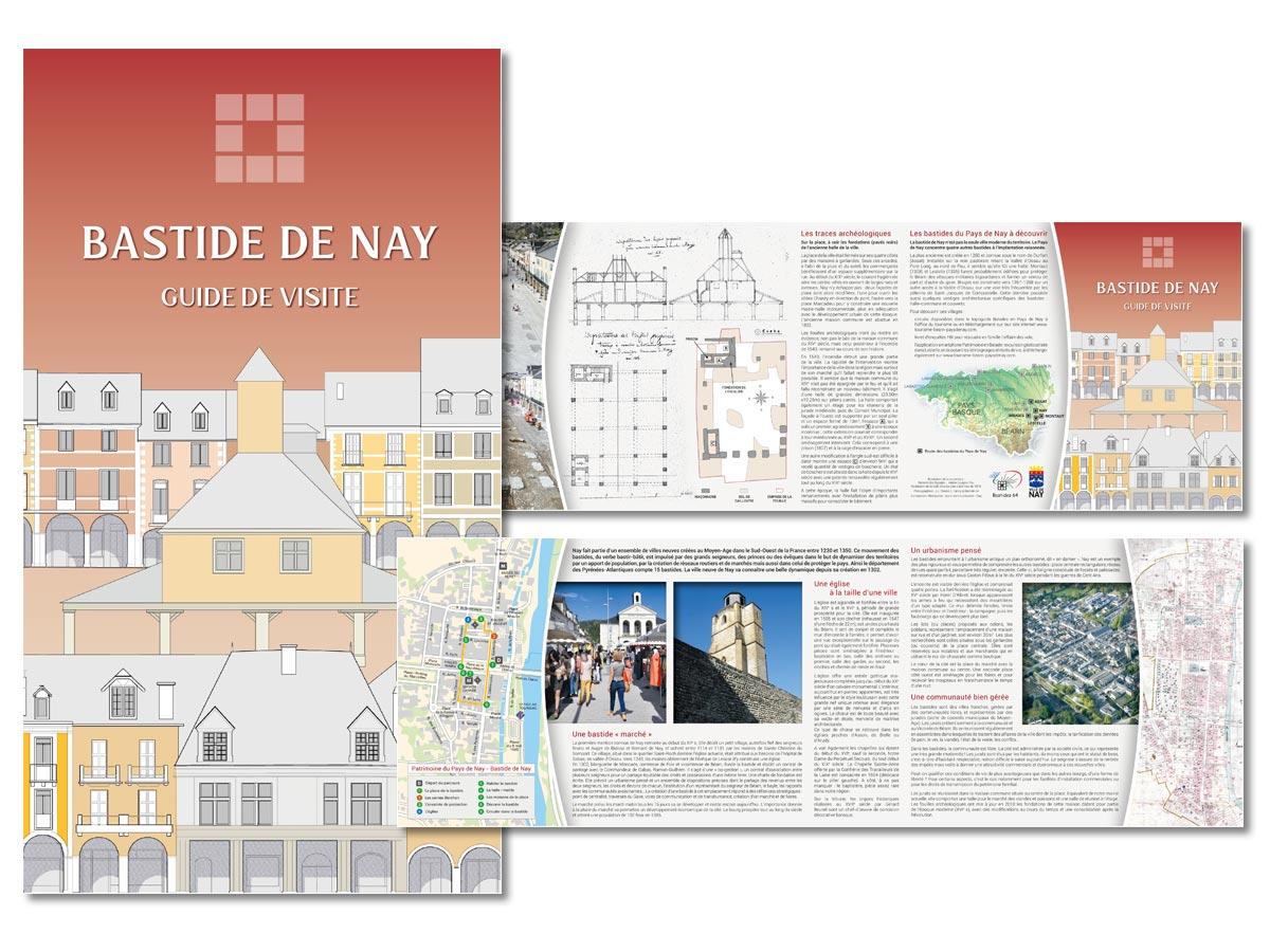 Guide de visite de la bastide de Nay - scom communication